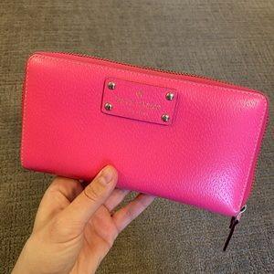 Pink Kate Spade wallet!